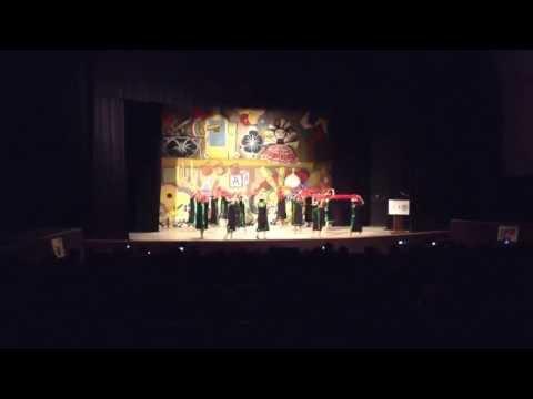 Macehuanicoyotl. Xochipitzahuatl. Encuentro Escolar de Danza. Distrital. Junio 8, 2013.