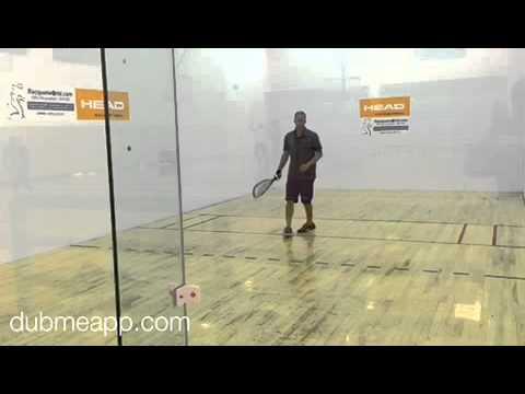 Rocky Carson Advanced Racquetball Drive Serves