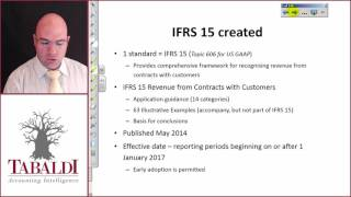IFRS 15-Why does IFRS15 Exist?
