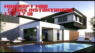 getlinkyoutube.com-Casas instantaneas- MINECRAFT MOD 1.7.2 Y 1.7.10