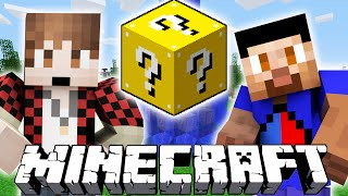 'VIKK vs MITCH!' - Minecraft LUCKY BLOCK HUNGER GAMES #11