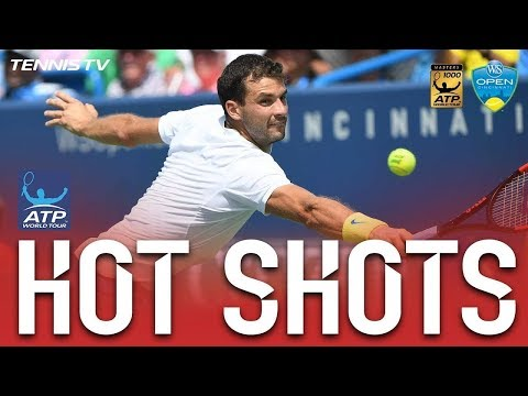 Dimitrov`s Dive Volley Hot Shot Cincinnati 2017