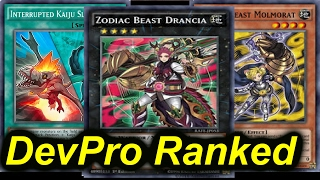 getlinkyoutube.com-ZODIAC BEAST KAIJU - DEVPRO RANKED SERIES - The Road to Rank 1 [Yugioh]