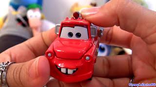 getlinkyoutube.com-Tomica Rescue Squad Mater Disney Cars Toon Pixar C-35 Takaratomy