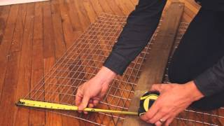 getlinkyoutube.com-How to Build a Rabbit Cage - Step by Step