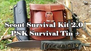 getlinkyoutube.com-Scout Survival Kit 2.0 | PSK Survival Tin & Gear