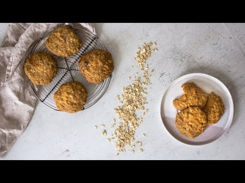 Healthy Oatmeal Cookies - Simple Ingredients, Easy to Make