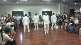 getlinkyoutube.com-Jabbawockeez Perform at Joe and Sofia's Wedding 2014