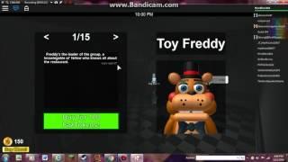 getlinkyoutube.com-ROBLOX FNaF 2 RolePlay