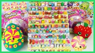 getlinkyoutube.com-Shopkins Season 2 Minnie Mintie Play Doh Surprise Egg Limited Edition Hunt 12 and 5 Packs!