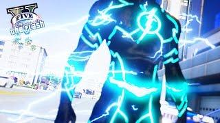 INSANE Speed Of The Flash ! The Future Flash (GTA 5 Ultimate Flash Mod Gameplay)
