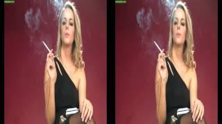 getlinkyoutube.com-Model Dannii Dee smoking all white 120's HD HQ