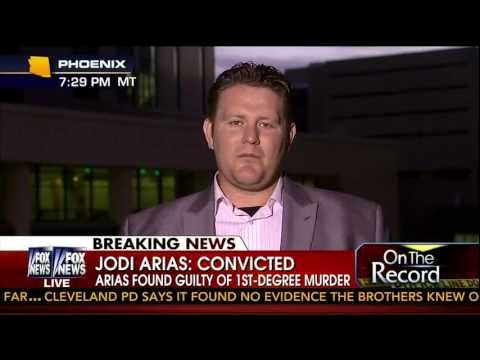 Ryan Burns Interview after Jodi Arias Murder Conviction 05-08-13