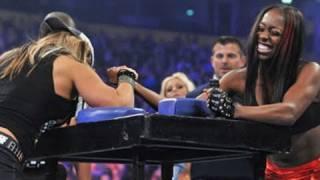 getlinkyoutube.com-WWE NXT: NXT Rookie Diva Challenge: Arm Wrestling Contest