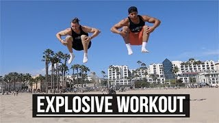 getlinkyoutube.com-Explosive Jump Workout   No Gym Required   The Lost Breed