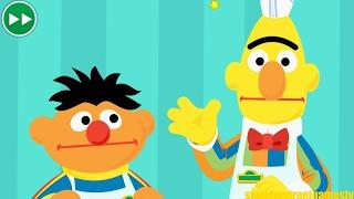 Sesame Street Bert and Ernie Work At A Restaurant Online Game