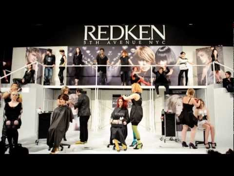 Bianca Beauchamp, RedKen Stage at Hair Show
