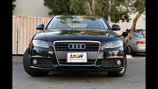 USR 09-11 Audi A4 B8 DEPO Headlight Installation