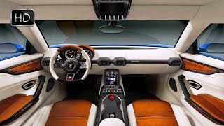 getlinkyoutube.com-2015 Lamborghini Asterion LPI 910-4 Plugin-Hybrid Concept Interior Design HD