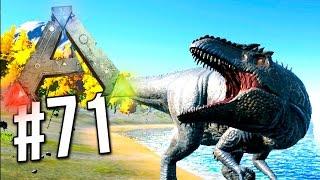 getlinkyoutube.com-Ark Survival Evolved - Giganotosaurus TAMING! How to Tame Giga (Ark Survival Evolved)