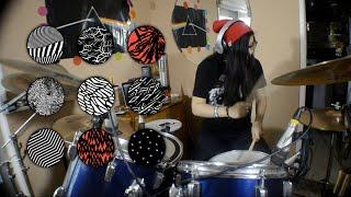 getlinkyoutube.com-(Girl Drum Cover) Heavydirtysoul - Twenty One Pilots