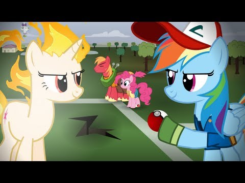 Pokemon Re-enacted by Ponies