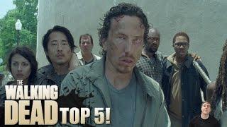 getlinkyoutube.com-The Walking Dead Season 6 Episode 3 – Top 5 Best Moments!