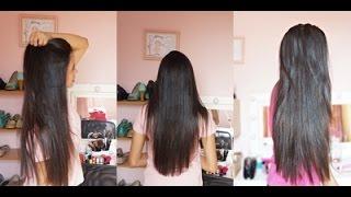 getlinkyoutube.com-Como fazer o cabelo crescer mais rápido! ♥ Por: Aline Duarte