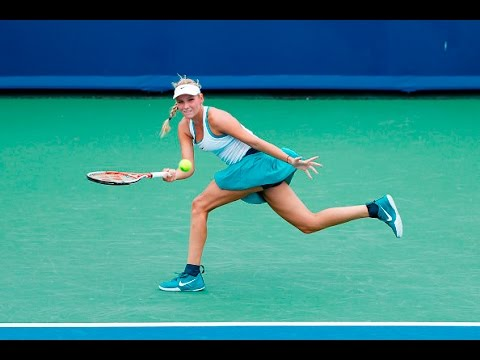 2016 Western Southern Open First Round | Donna Vekic vs Ana Ivanovic | WTA Highlights