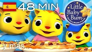getlinkyoutube.com-Tres gatitos - Parte 2   Y muchas más canciones infantiles   ¡LittleBabyBum!
