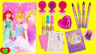 getlinkyoutube.com-Disney Princess Art Advent Calendar 24 Surprises