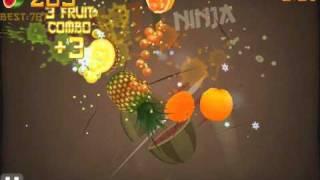getlinkyoutube.com-Fruit Ninja Arcade Mode - Score: 540