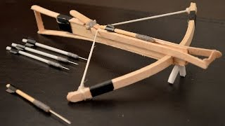 getlinkyoutube.com-How to Make a Mini Crossbow