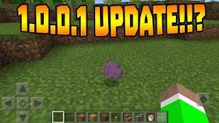 getlinkyoutube.com-MCPE NEW 1.0.0.1 UPDATE!!? - Build 4 Changelog - Minecraft PE (Pocket Edition)