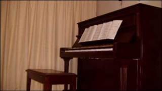 getlinkyoutube.com-Winter Song 雪のクリスマス (ドリカム) あつしとーちゃんのピアノ