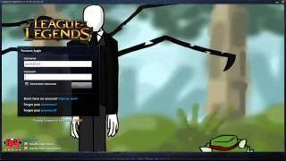 getlinkyoutube.com-Slenderman Champion Spotlight - Custom Login Screen League of Legends