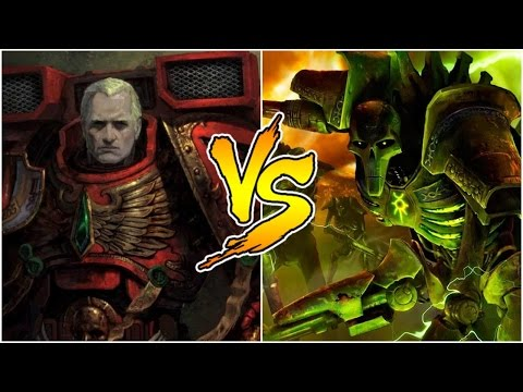 Angeles Sangrientos vs Necrones
