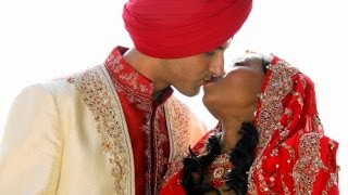 getlinkyoutube.com-Interracial wedding - Our weddings day - Indian Wedding - Best wedding ever - Mixedrace Couple