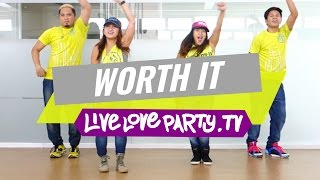 getlinkyoutube.com-Worth It | Zumba® | Dance Fitness | Live Love Party