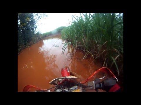 Trilha de moto em Marialva-PR  02/06/2013