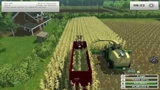 getlinkyoutube.com-Farm Sim Saturday  growing crops for the cows