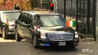 getlinkyoutube.com-オバマ大統領の車が段差に引っかかって立ち往生