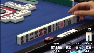 getlinkyoutube.com-【麻雀】宮内こずえの国士無双!!