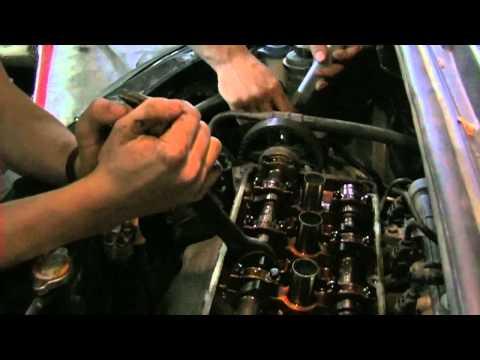 Hyundai Getz 1 4 замена цепи ГРМ