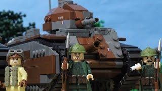 getlinkyoutube.com-1940 Lego World War Two Battle for France at Stonne