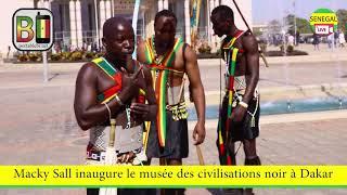 Senegal ,inauguration musée des civilisation noires