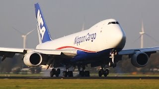 getlinkyoutube.com-Boeing 747-8 vs. Airbus A340-600