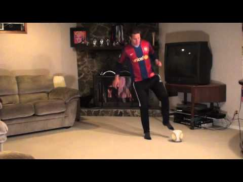 At Home Soccer Skills and Drills: Exercise #1 - V Cuts