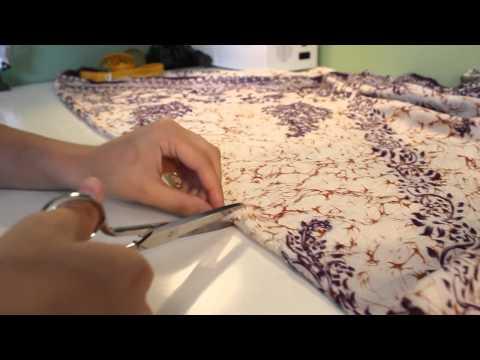 [DIY] Cómo transformar pantalones cagados en vestido.