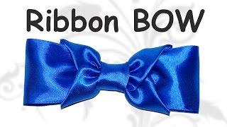 DIY crafts - How to make  ribbon bow / DIY ribbon bow /  DIY beauty and easy